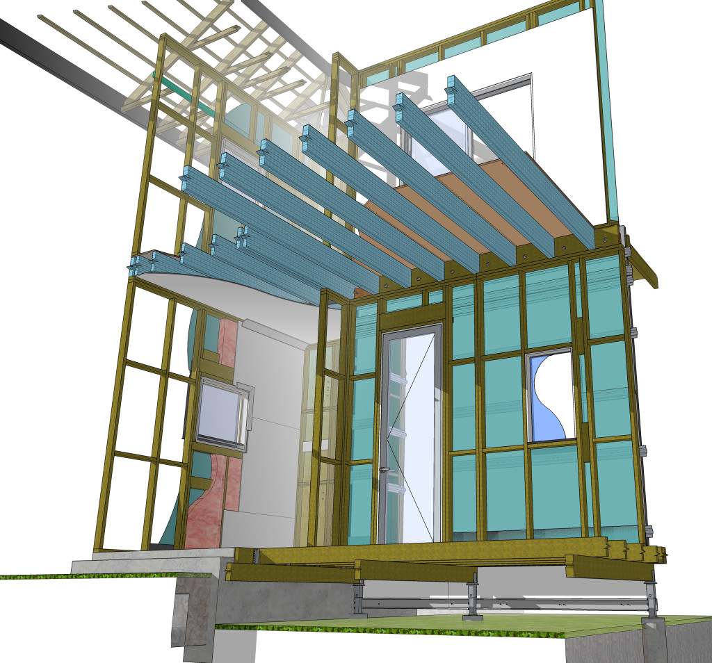 3D VDC model for construction efficiency and communictaion of structural intent.