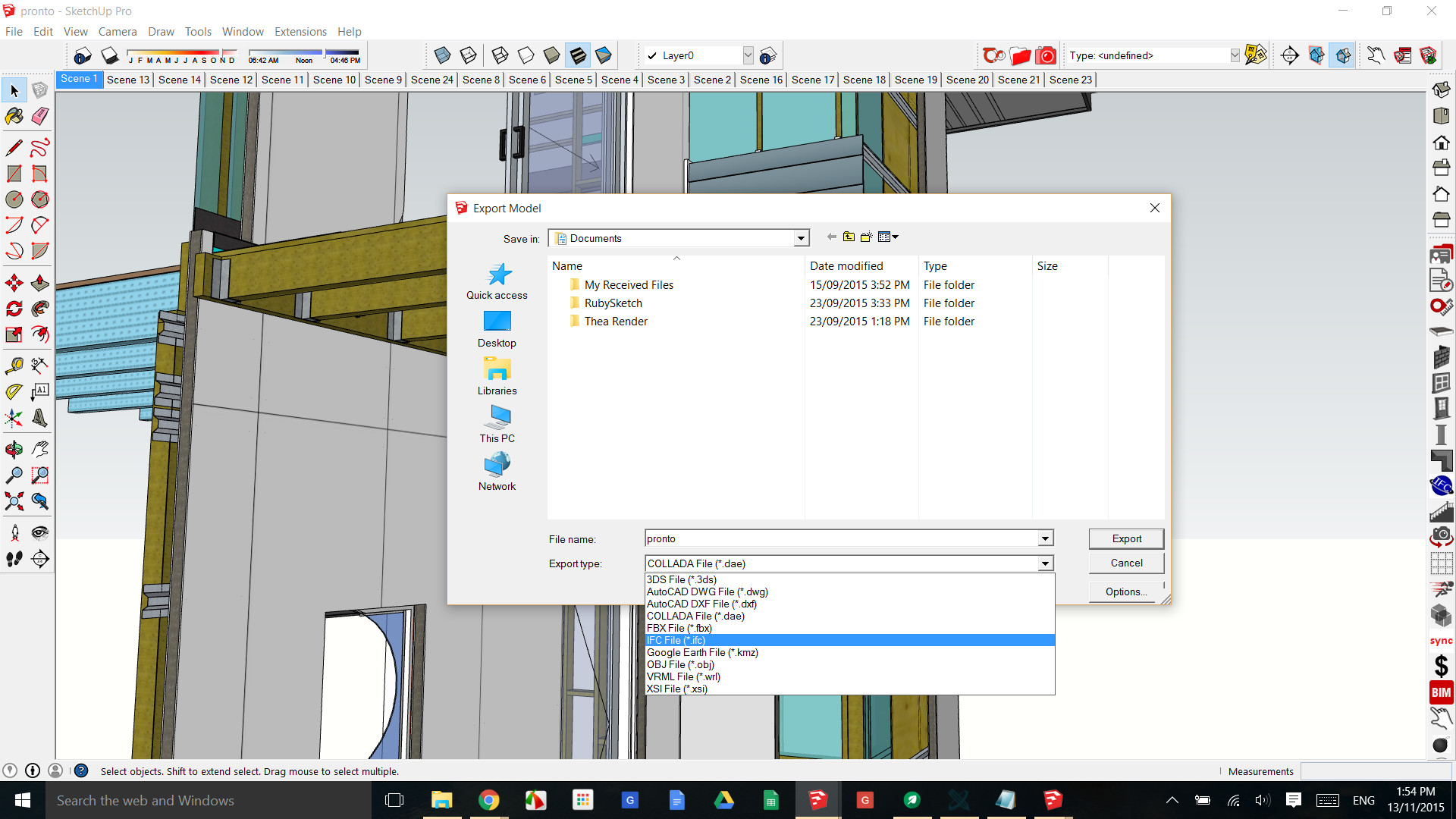 Revit Imports How to use a Sketchup Model in Revit - PlusSpec