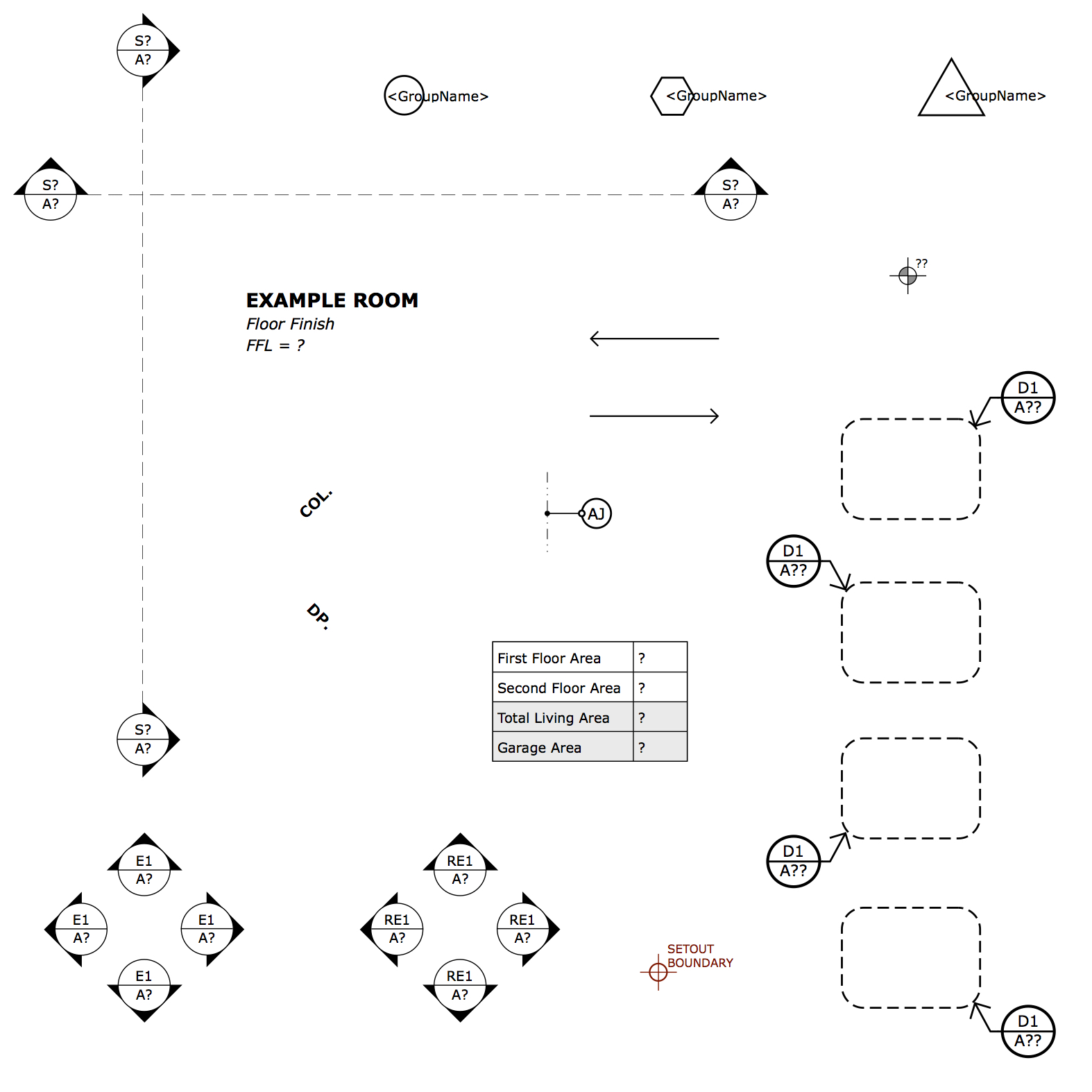 Layout Kick Starter Pack Plusspec Legend Of Electrical Plan Simply Customize The Symbols Or Sets To Suit Your Company And Style