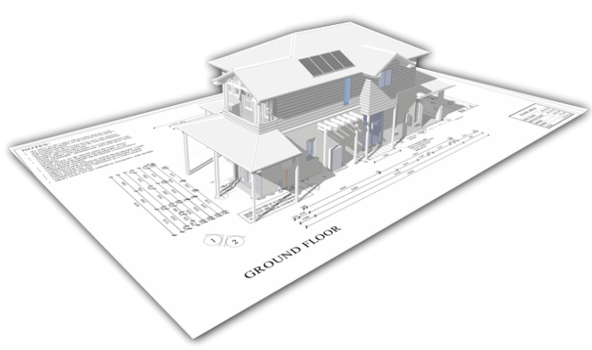 Estimate 3D Models by tracing over a 2D Plan - Plus Design Build