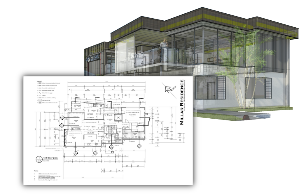 Autodimensioned Plans in SketchUp layout with PlusDesignBuild